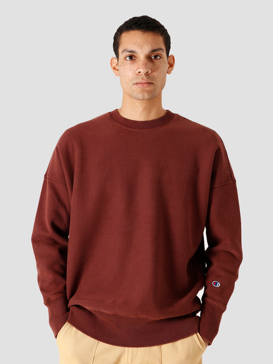 Champion Crewneck Sweatshirt Brown 214924