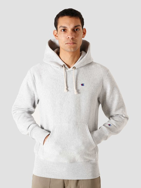Champion Hooded Sweatshirt Grey 215214