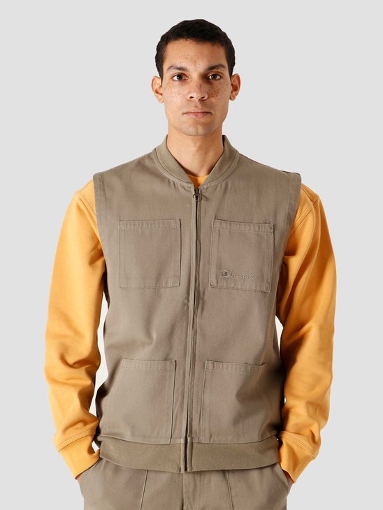 Champion Full Zip Vest Vetiver 215203