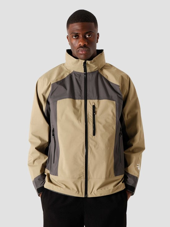 Stussy Taped Seam Rain Shell Moss 6201936000-0411