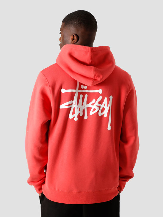 Stussy Basic Hood Pale Red 6110202041-0660