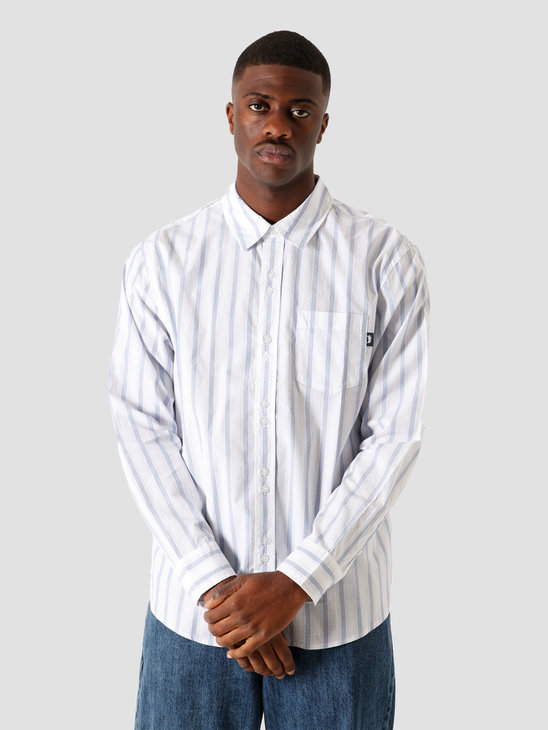 Stussy Classic Double Button Longsleeve Shirt Stripe 6205202066-922