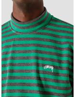 Stussy Stussy Classic Stripe Longsleeve Turtleneck Green 6105100010-0401