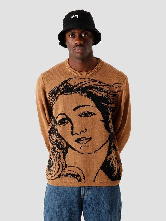 Stussy Venus Sweater Brown 6110202010-1001
