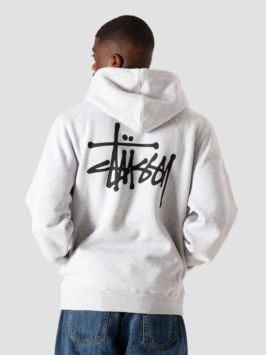 Stussy Basic Hood Ash Heather 6110202041-0062