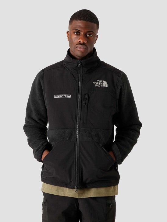 The North Face Steep Tech Full Zip Fleece Black NF0A4R6AJK3