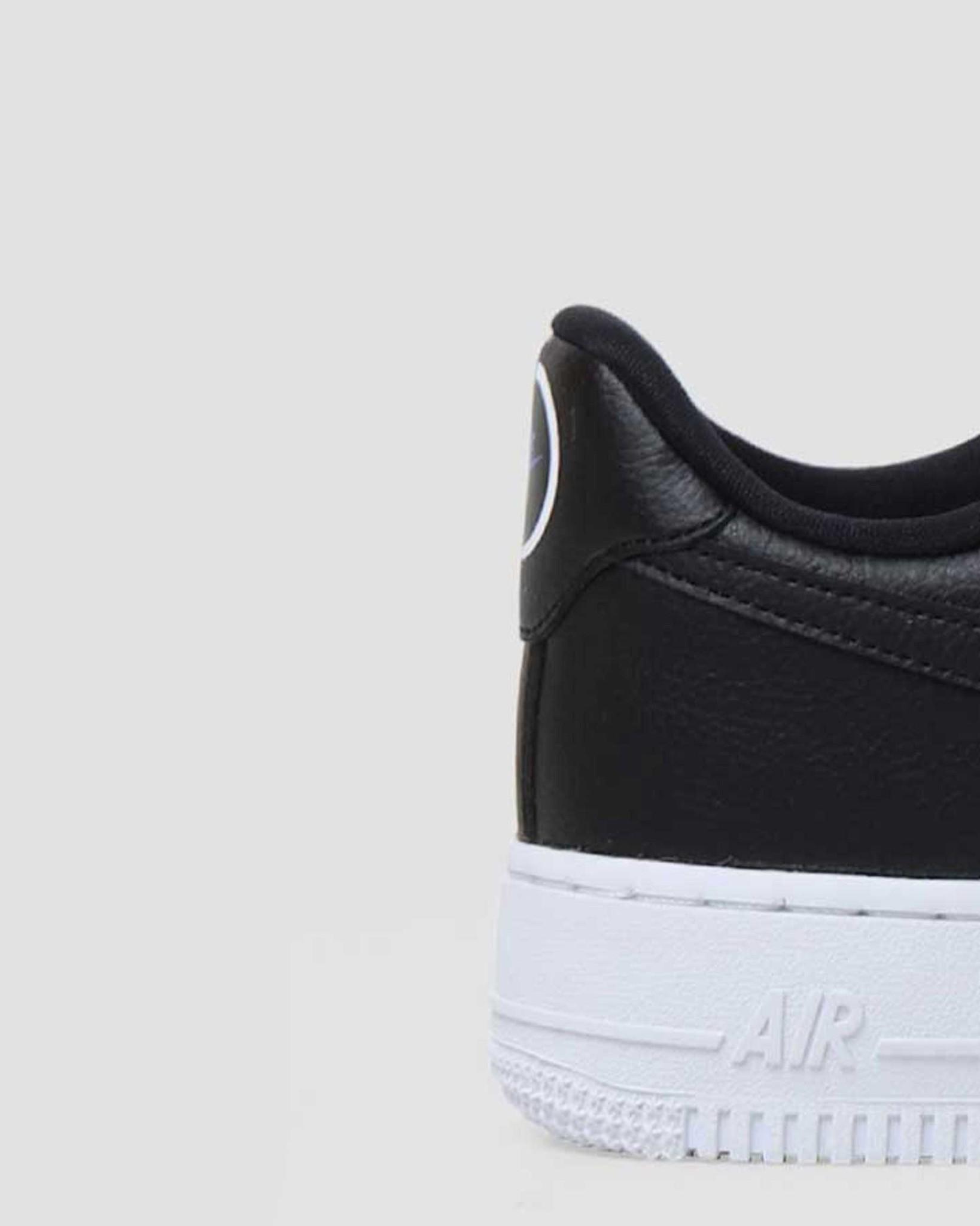 Nike Nike W Air Force 1 07 Lx Black Black Metallic Gold Hyper Royal CT1990-001