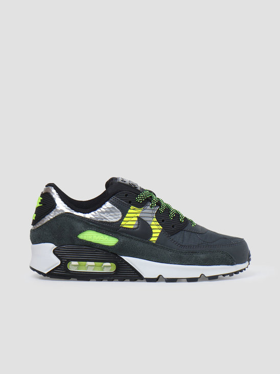 Nike Air Max 90 3M Anthracite Anthracite Volt Black CZ2975-002