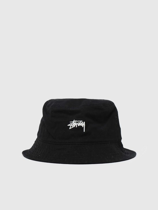 Stussy Stock Bucket Hat Black 6505002060-0001