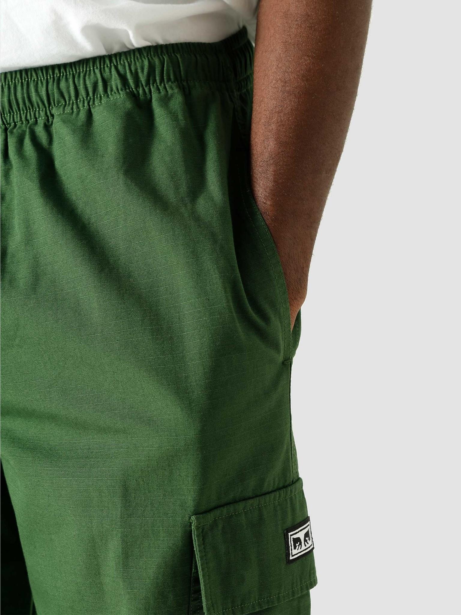 Obey Obey Easy Big Boy Cargo Pant Park Green 142020157-GRN