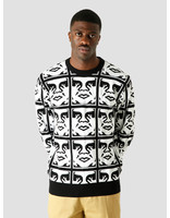 Obey Obey Repeat Sweater 151000048 Bkm