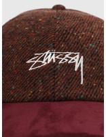Stussy Stussy Speckled Wool Low Pro Cap Rust 6505008090-0627