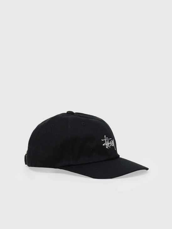 Stussy Stock Low Pro Cap Black 6505002060-0001