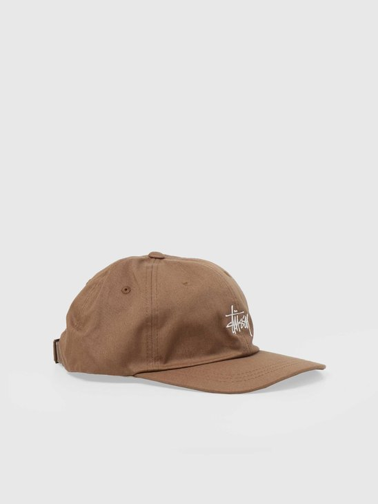 Stussy Stock Low Pro Cap Light Brown 6505002060-1029