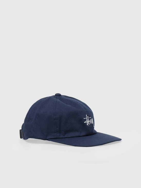 Stussy Stock Low Pro Cap Navy 6505002060-0806