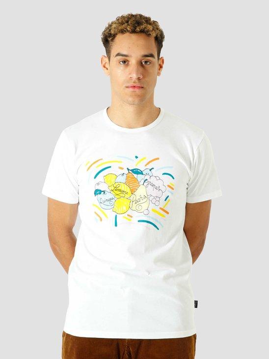 Ceizer x Van Gogh Museum Quinces Lemons & Pears Tshirt White VG004