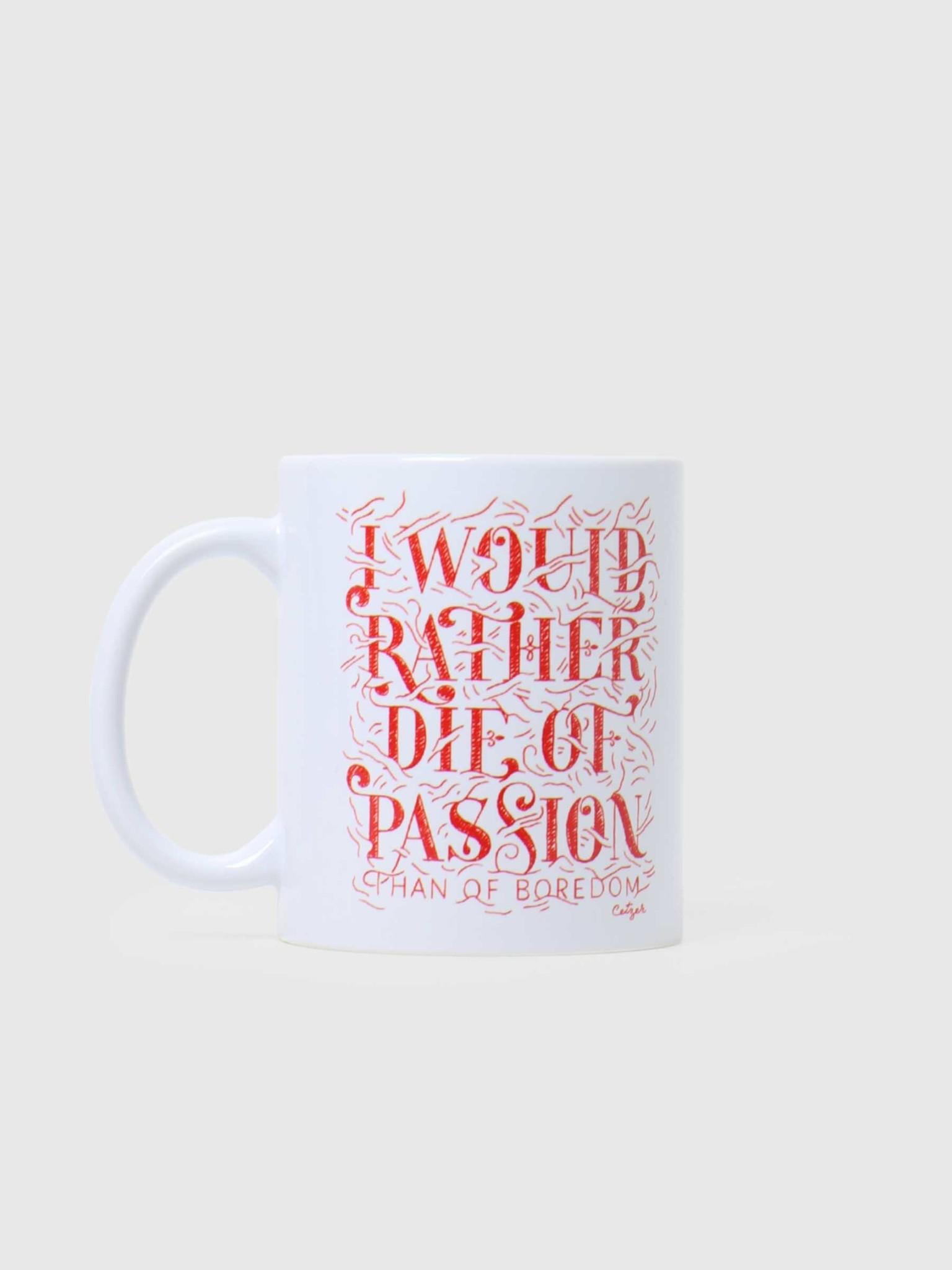 Ceizer Ceizer Passion Mug White VG009