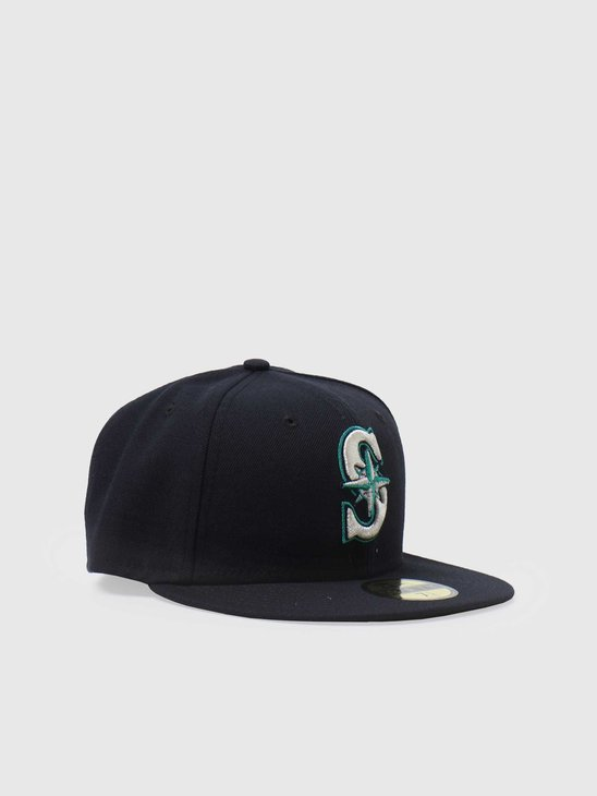 New Era 59fifty Fitted MLB Game Cap Seattle Mariners 70360949