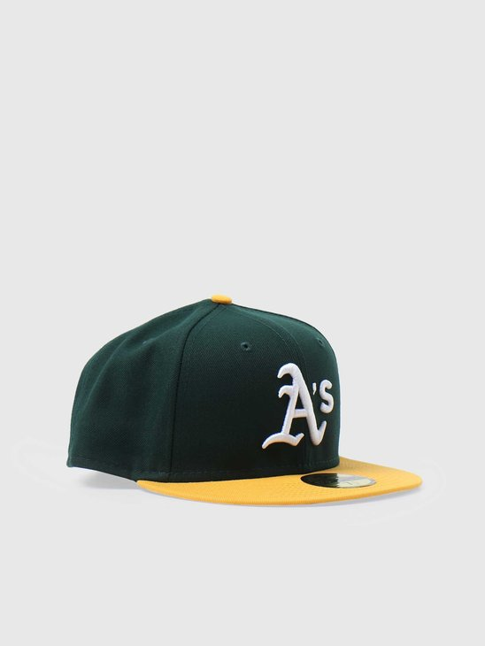 New Era 59fifty Fitted MLB Game Cap Oakland Athletics 70361054