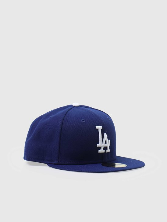 New Era 59fifty Fitted MLB Game Cap Los Angeles Dodgers 70331962