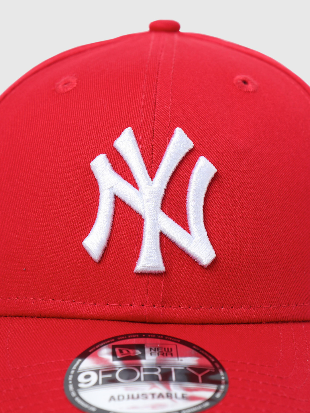 New Era New Era 9Forty League Basic New York Yankees Scarlet White 10531938