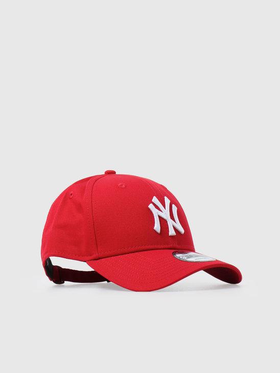 New Era 9Forty League Basic New York Yankees Scarlet White 10531938