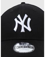 New Era New Era 9Forty League Basic New York Yankees Black White 10531941