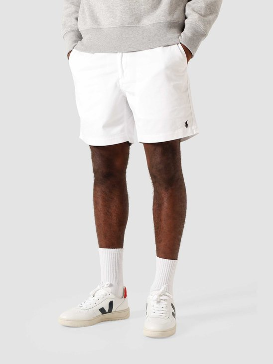 Polo Ralph Lauren Classic Fit Prepster Short White 710644995011