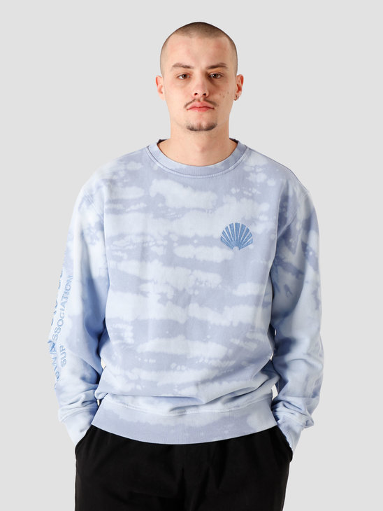 New Amsterdam Surf association Logo Sweat Sky 2021046