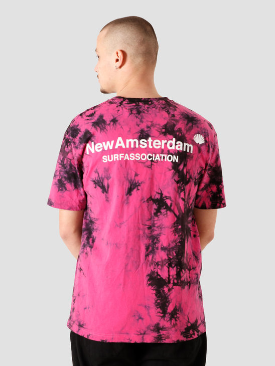 New Amsterdam Surf association Logo T-Shirt Tie Dye 2021017