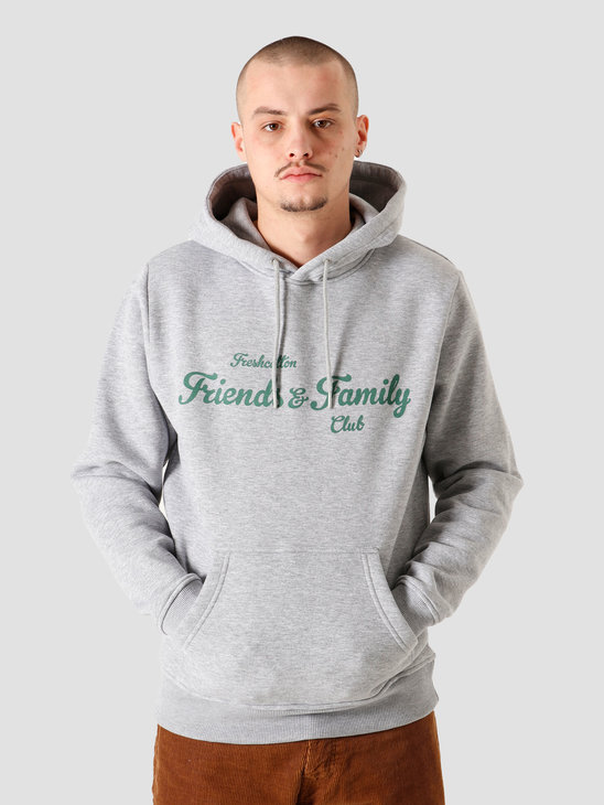 FreshCotton Freshcotton Friends & Family Hoodie Grey