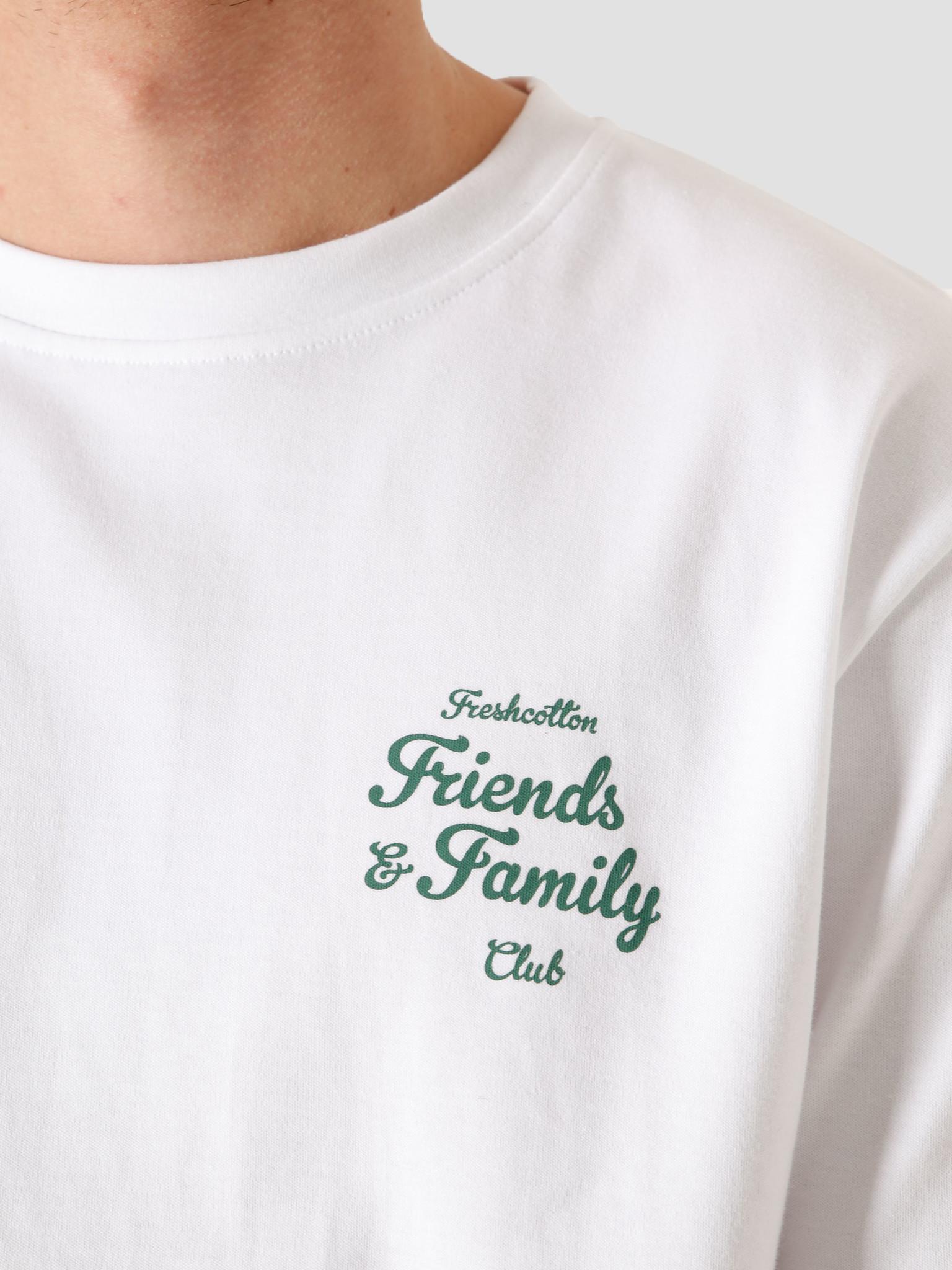 FRESHCOTTON FreshCotton Freshcotton Friends & Family T-Shirt White