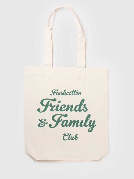 FreshCotton Freshcotton Friends & Family Tote Bag Natural