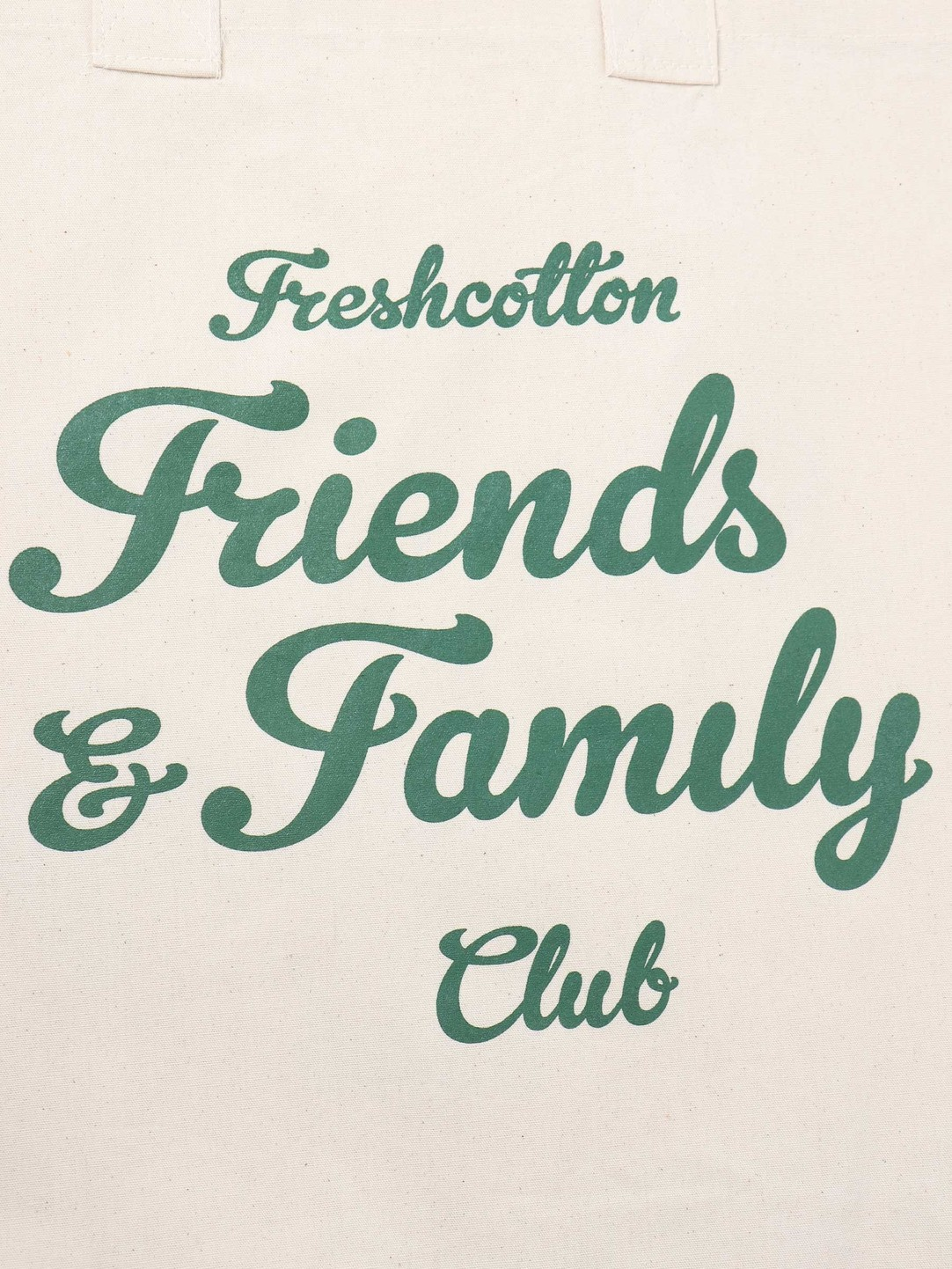 FRESHCOTTON FreshCotton Freshcotton Friends & Family Tote Bag Natural