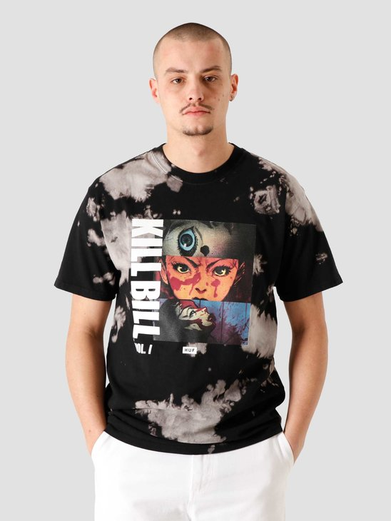 HUF Origin Tiedye T-Shirt Black TS01533