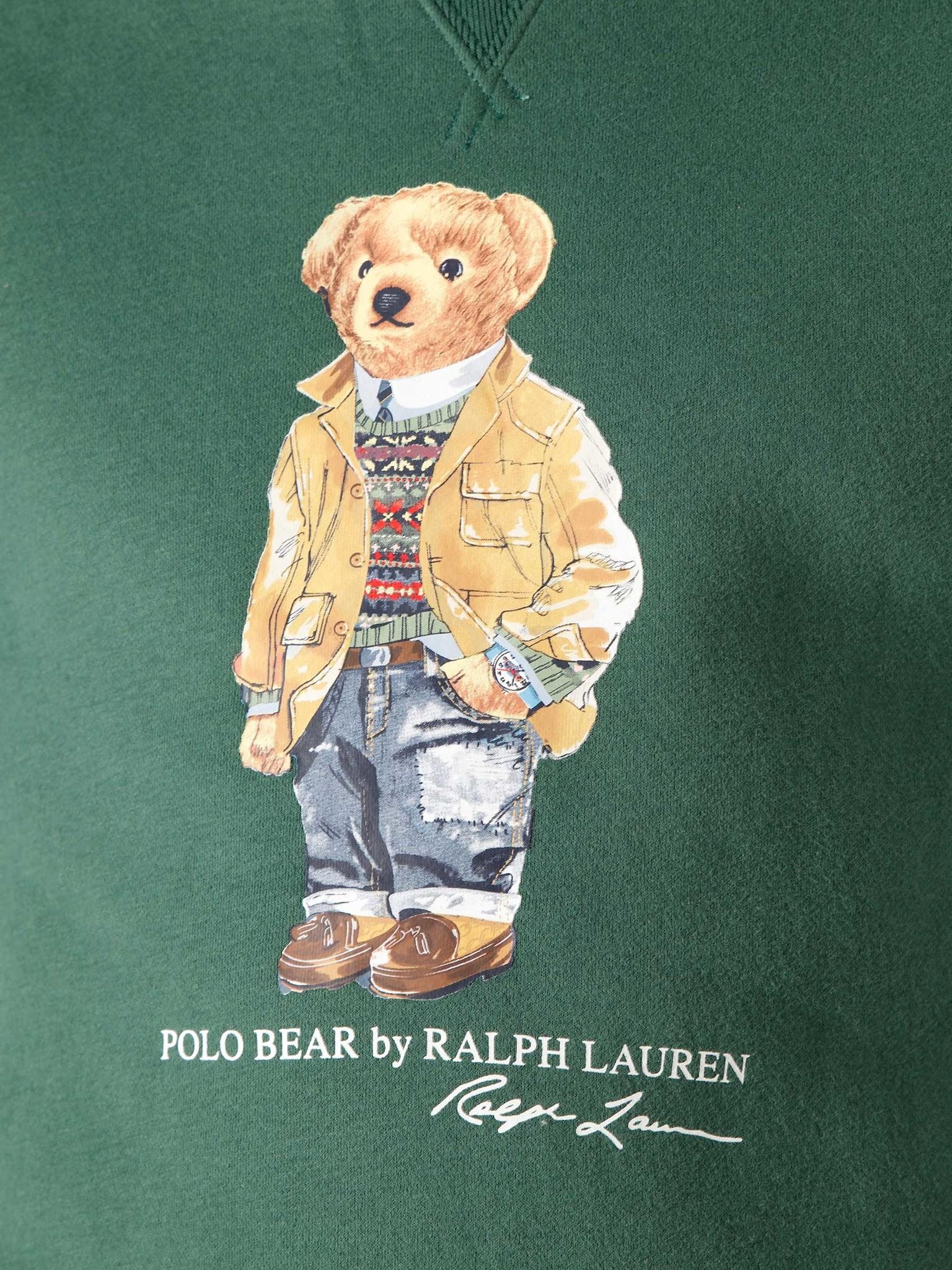 Polo Ralph Lauren Polo Ralph Lauren Magic Fleece Longsleeve Washed Forest 710829165003