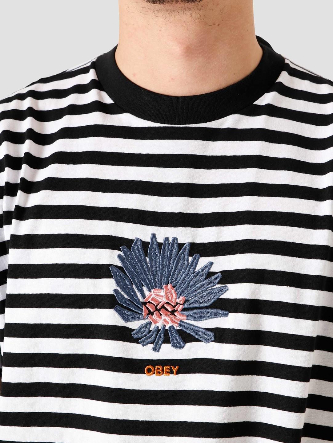 Obey Obey Obey Bloom Tee 131080284 Bkm