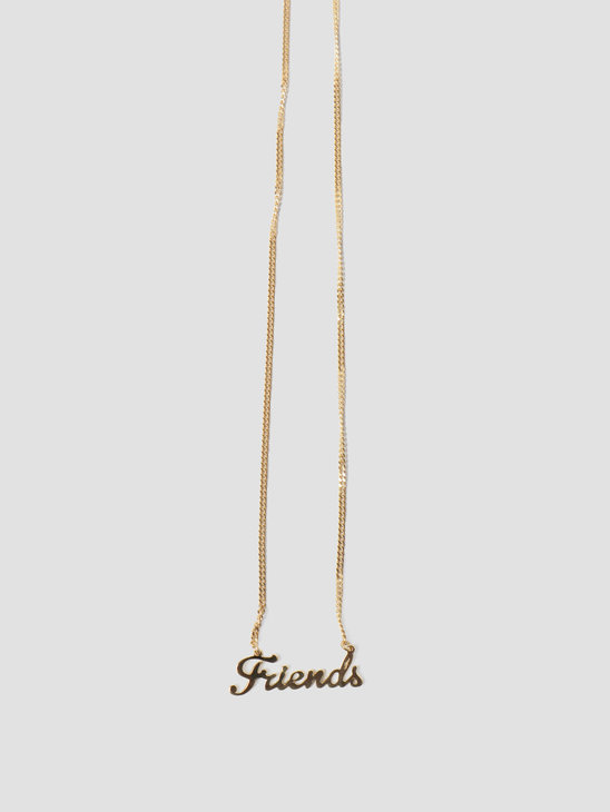 Golia by Freshcotton Friends Necklace 55cm 14K gold plated