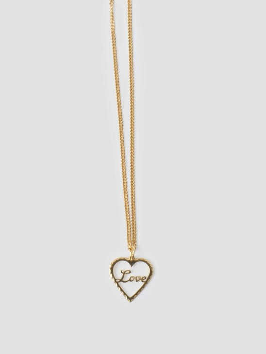 Golia by Freshcotton Love Necklace 55cm 14K gold plated