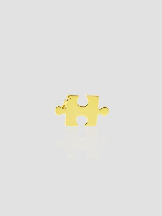 Golia Puzzle Pendant One size 14k Gold