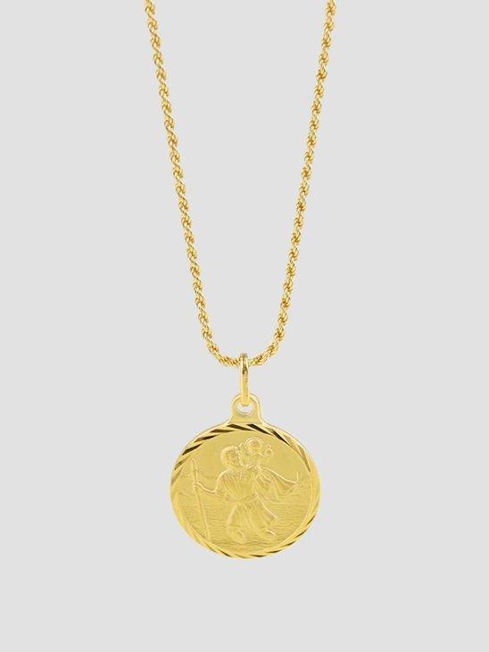 Golia Cristoforo Necklace 55cm 14k Gold