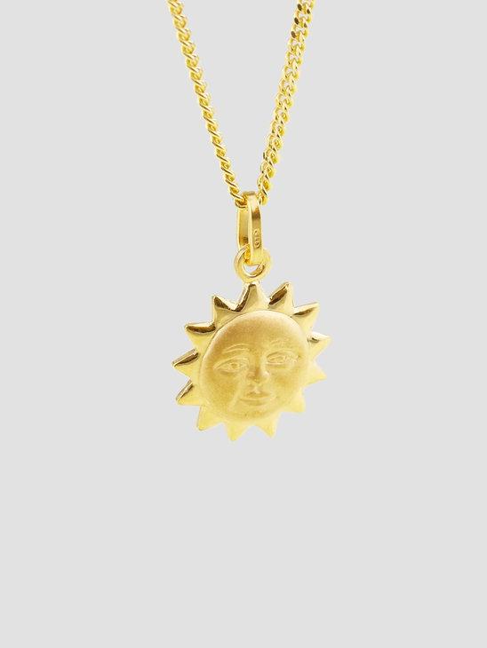 Golia Sole Necklace 55cm 14k Gold