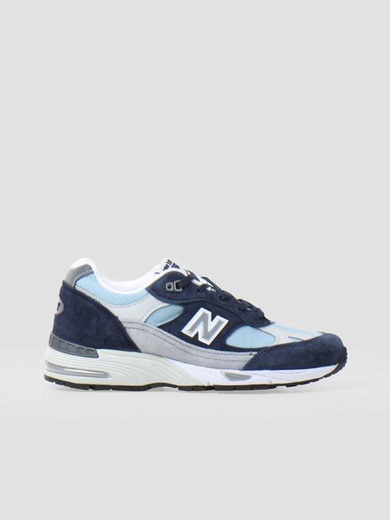 New Balance W991 B NBP Navy Grey 821141-50