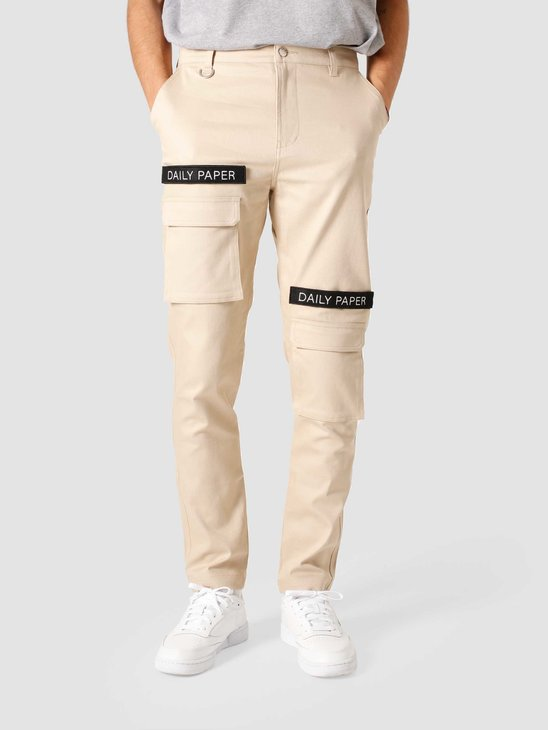 Daily Paper Beige Cargo Pants Sand NOSB08