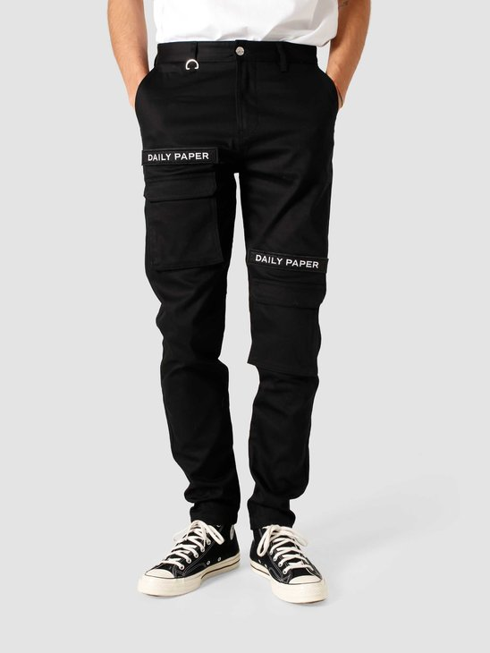 Daily Paper Cargo Pants Black NOSB01