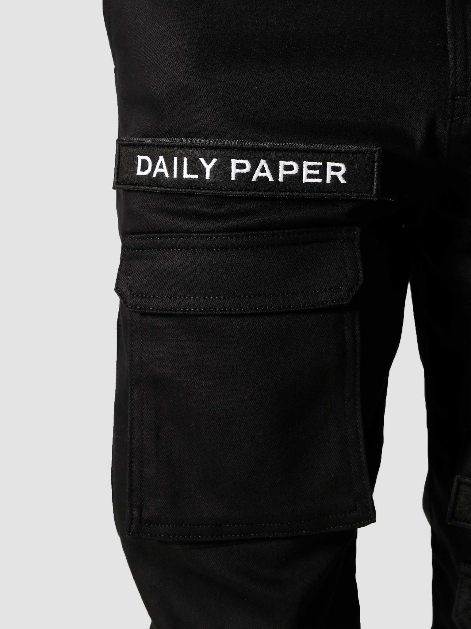 Daily Paper Daily Paper Cargo Pants Black NOSB01