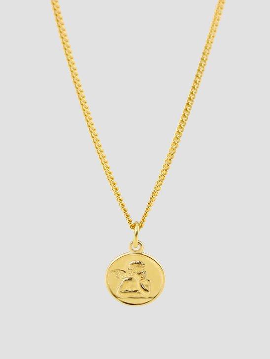 Golia Angelo Necklace 55cm 14k Gold