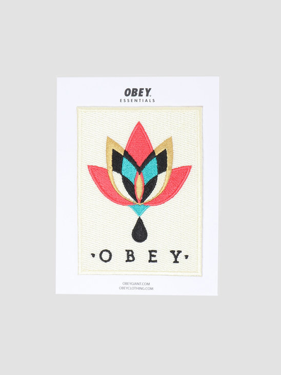Obey Essentials Embroidered Patches 100700001