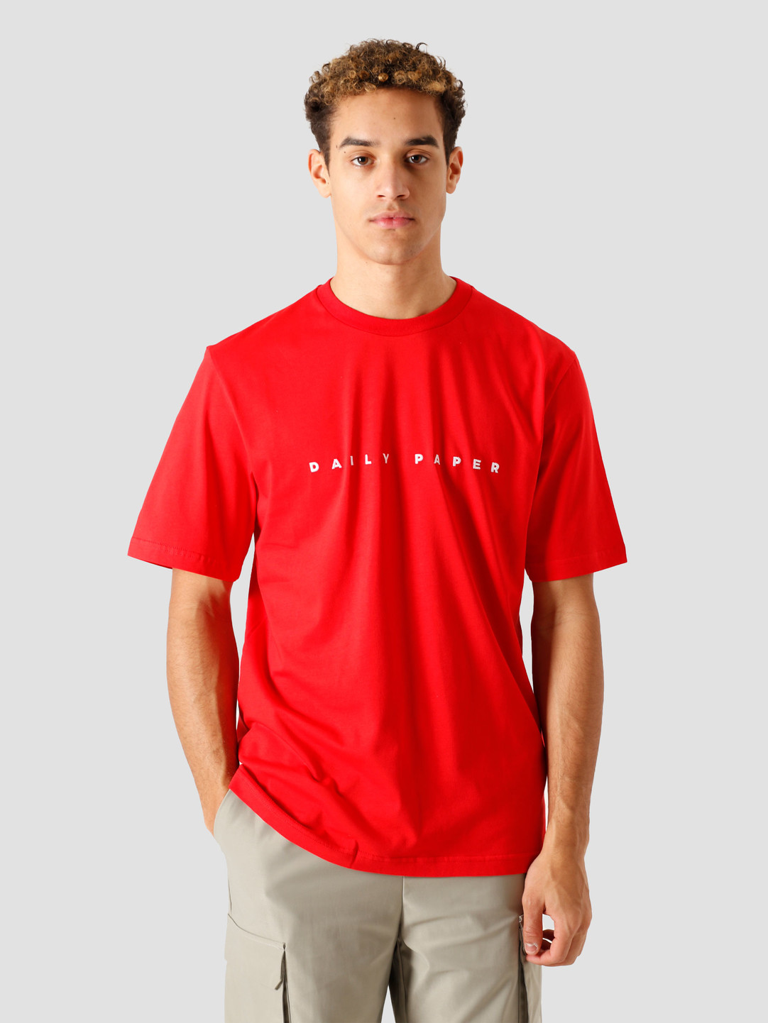 Daily Paper Daily Paper Elias T-Shirt True Red 2111014