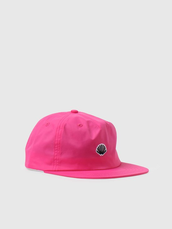 New Amsterdam Surf association Logo Patched Cap Magenta 2021076